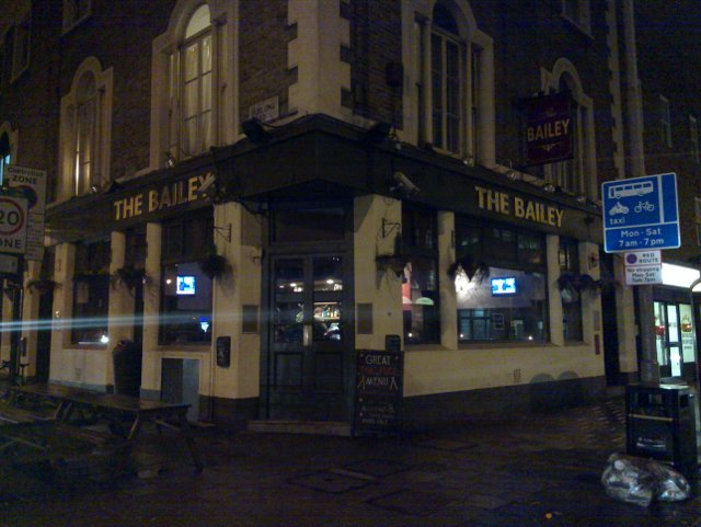 The Bailey Pub, 81 Holloway Road, Lower Holloway, London, N78LT