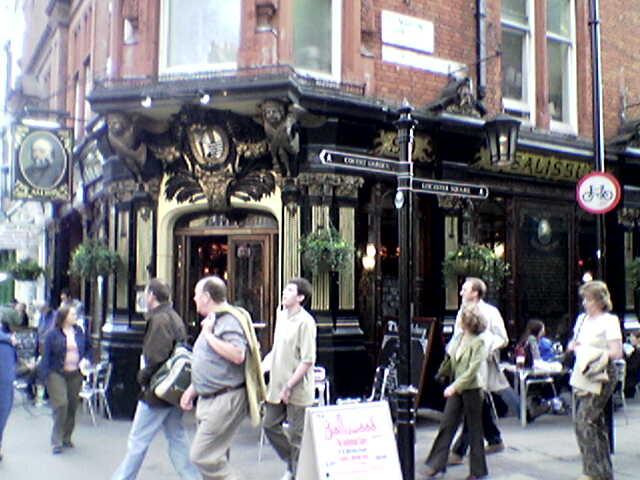 The Salisbury Pub 90 St Martins Lane Strand London WC2N4AP